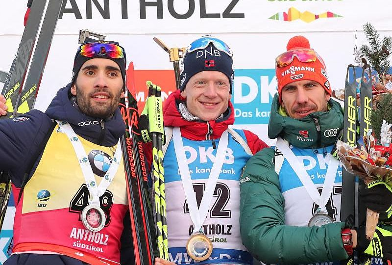 Antholz-Podium