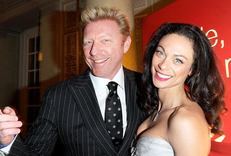 Lilly + Boris Becker